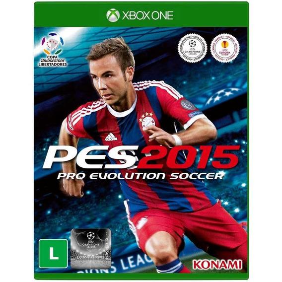 Pes 2015 Pro Evolution Soccer - Xbox One - Lacrado