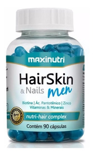 Hair Skin & Nails Men 90 Caps - Maxinutri