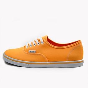 Tênis Vans Authentic Lo Pro (neon) Orange Pop