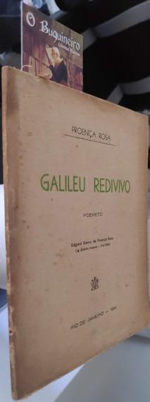 Galileu Redivivo - Proença Rosa - 1ª Edição