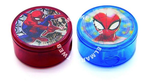 Sacapuntas Saca Puntas Spiderman Licencia Oficial