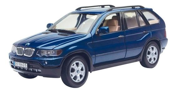 Bmw X5 Motormax 1:18 Carros Miniaturas Réplicas Coleção Suv