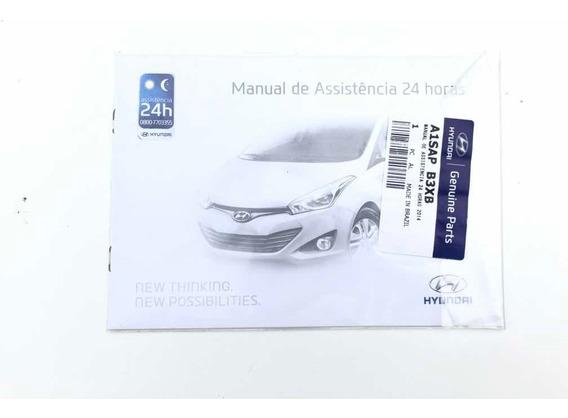 Manual Assistência 24 Horas Hyundai Hb20 Original