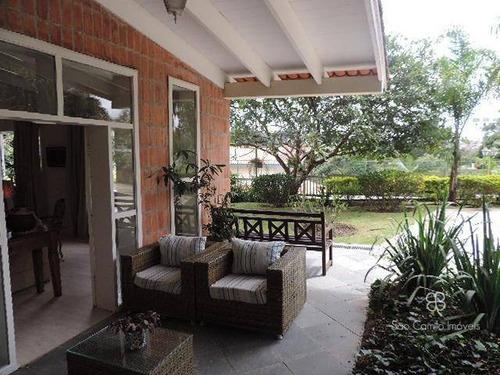 Casa Com 4 Dormitórios À Venda, 436 M² Por R$ 3.330.000,00 - Granja Viana - Carapicuíba/sp - Ca1111