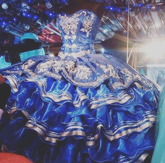 Vestido Charro De Xv Nuevo Bordado Diferentes Colores Oferta