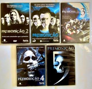 Coleção Dvd Originais Dos Filmes Premonição 1 A 5 - Dublado