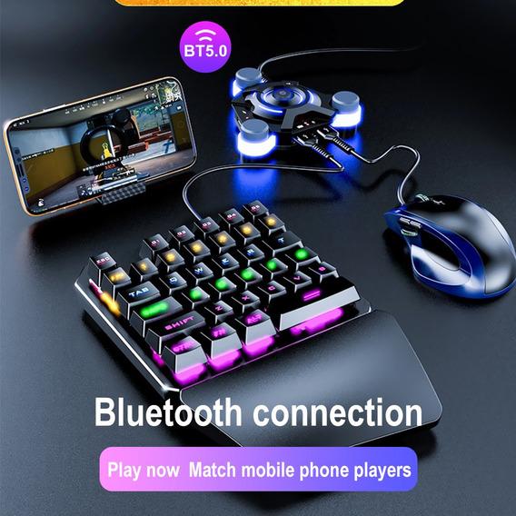 Usb Gamepad Controller Converter Teclado E Mouse Adaptador P