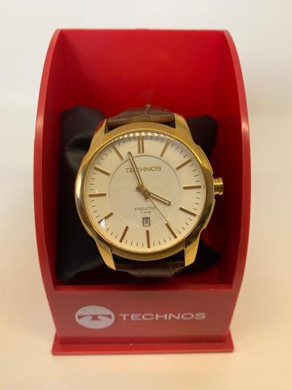Relógio Technos Executive 5atm/ Original/ Nfiscal +brinde
