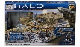 Conjuntos De Construcción,juguete Megabloks Halo Azul..