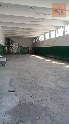 Galpão Para Alugar, 1000 M² Por R$ 13.000,00/mês - Chácara Belenzinho - São Paulo/sp - Ga0145
