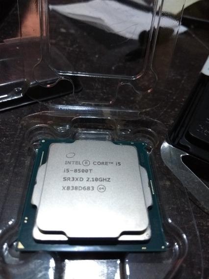 Core I5 8500t 1151 2.1 3.5 Tdp 35w 8ª Geração + Cooler Intel
