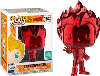 Funko Pop! Dragon Ball Z #154 Saiyan Vegeta Funkolandia Arg
