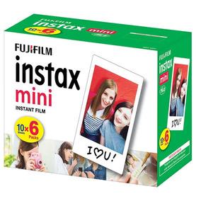 Filme Instantâneo Fujifilm Instax Mini Kit Com 60 Fotos