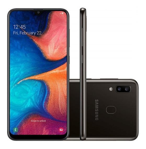 Smartphone Samsung Galaxy A20 32gb Tela 6.4 Câmera 13mp