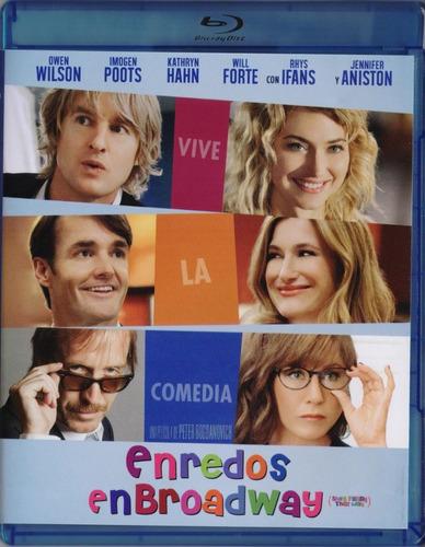 Imagen 1 de 3 de Enredos En Broadway Owen Wilson Pelicula Blu-ray