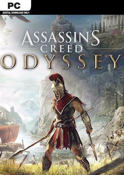 Assassins Creed Odyssey ( Mídia Física) Pc - Dvd