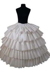 Enagua Para Vestido De Novia O 15 Años, Mariñaqui