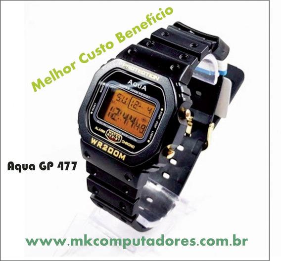 Relógio Aqua Gp477 Original-wr200