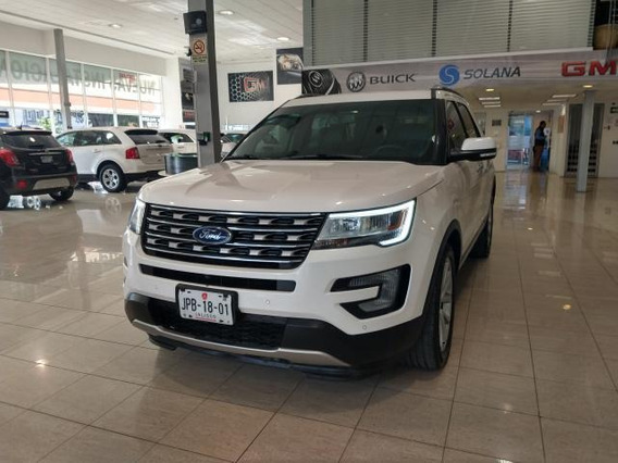 Ford Explorer Limited Fwd 2017 Blanco Platino