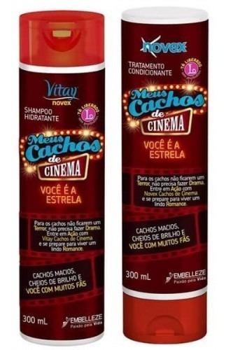 Novex Cachos De Cinema Shampoo Y Acondici - g a $52