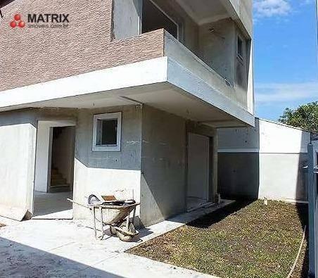Sobrado Com 3 Dormitórios À Venda, 95 M² Por R$ 629.000,00 - Uberaba - Curitiba/pr - So2454