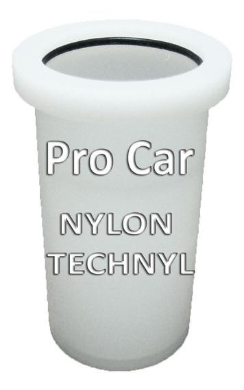 Bucha Nylon Technyl Peugeot 206 207 Eixo Traseiro Rolamento