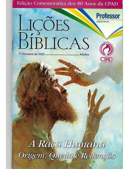 Revista Lições Bíblicas Adulto Professor 1° Trimestre 2020