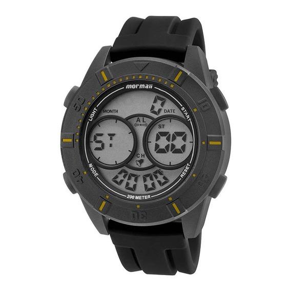 Relógio Masculino Mormaii Acqua Mo150915ae/8y 51mm Preto