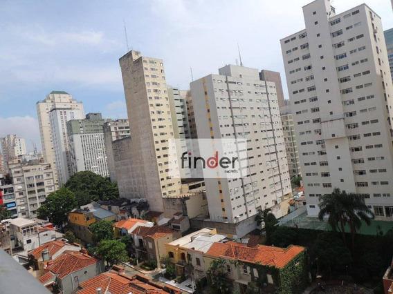Hype Jardins | Apartamento Com 1 Dormitório À Venda, 45 M² Por R$ 850.000 - Alameda Itú, 78 No Jardim Paulista - São Paulo/sp - Ap1806