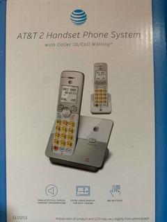 Teléfono At&t Identificador, En Espera Inalámbrico