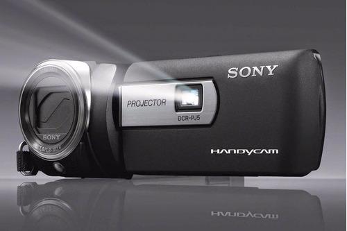 Dcr-pj-6 Filmadora Camera Sony Projetor Parede  2000 X Zoom