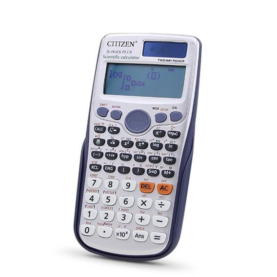 Calculadora Cientìfica Citizen Fx-991es Escolar Frete Grátis