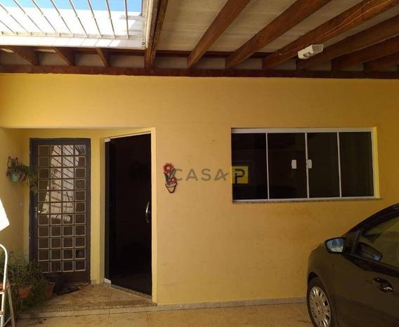 Casa Com 3 Dormitórios À Venda, 162 M² Por R$ 395.000 - Jardim Boer I - Americana/sp - Ca0500