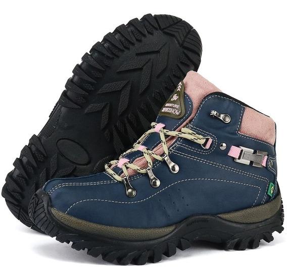 Coturno Adventure Sw Shoes Sola De Borracha Promoção Linda