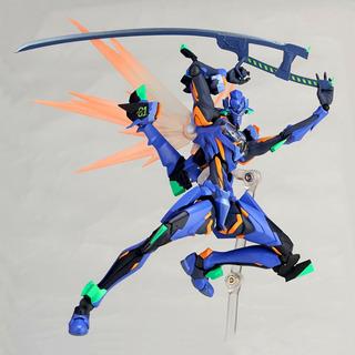 Eva 01 Evangelion Anima 017 Revoltech By Kaiyodo Japon