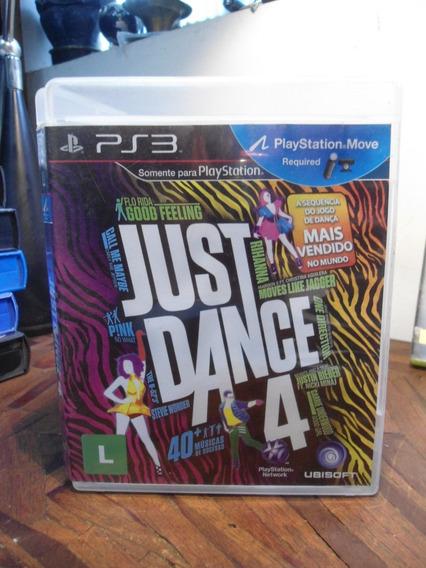 Jogo Para Playstation 3 - Just Dance 4 - Original