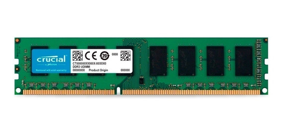 Memoria Ram Pc 4gb Crucial Ddr3 1600mhz Blister Original