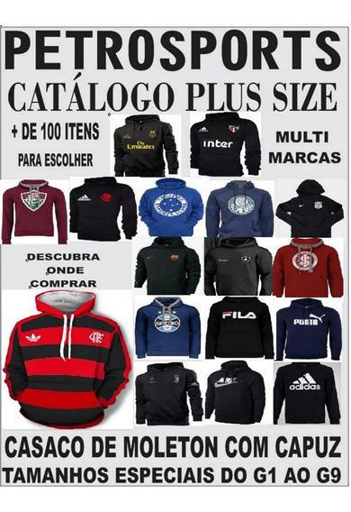 Casaco De Moletom Do Goias /times Plus Size (catalogo)