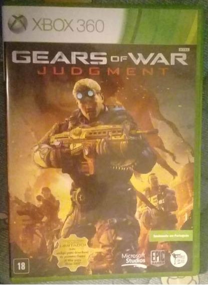 Jogo De Xbox 360 Gears Of War Judgment