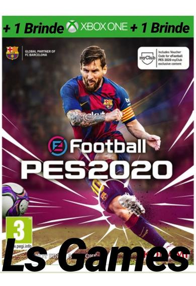 Pes 2020 Midia Digital Xbox One + Brinde