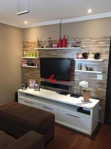 Apartamento Com 3 Dormitórios À Venda, 123 M² Por R$ 450.000,00 - Chácara Inglesa - São Bernardo Do Campo/sp - Ap2832