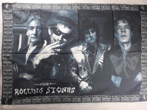 Cuadros Posters Banderas Rolling Stones Estampado En Tela