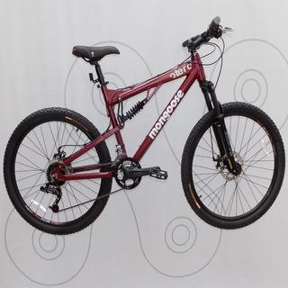 Bicicleta Rodado 26 Mtb Mongoose 24v Otero Comp