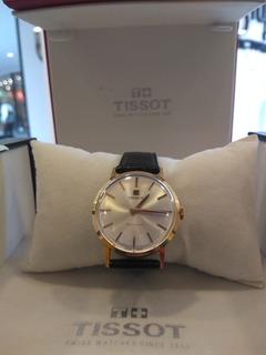 Reloj Tissot Caballero De Oro 18 Kltes