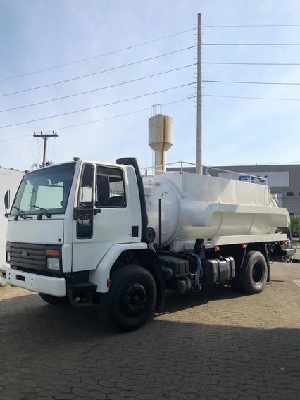 Caminhão Limpa Fossa Hidrojateamento Ford Cargo 1421