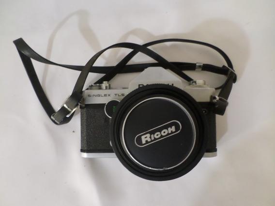 Câmera Ricoh Singlex Tls Japonesa - Com Manual