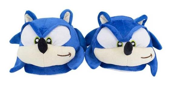 Pantuflas De Hombre Dama Chicos Sonic Premium Casa David
