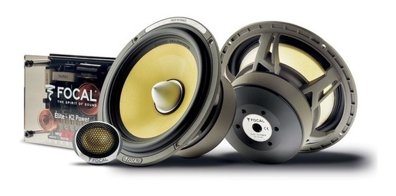Focal Set Medios Elite K2 Power Es165kx2 6.5 Pulgadas 2 Vías