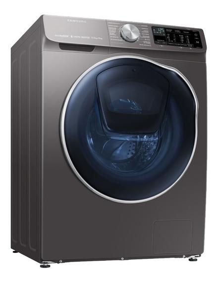 Lavasecadora Samsung 12,7kg Wi Fi Carga Frontal Wd12 Stienda