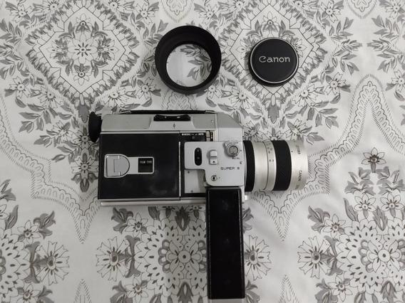 Filmadora Canon Super 8 Autozoom 814 Com Case Original